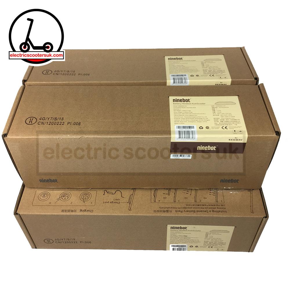 Original Ninebot second extended battery pack for ES1 ES2 ES4 - Electric  Scooters UK