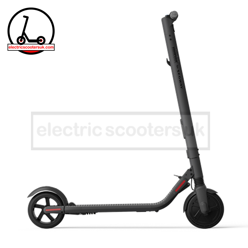 Ninebot by Segway KickScooter ES2 - DARK GREY - Electric Scooters UK