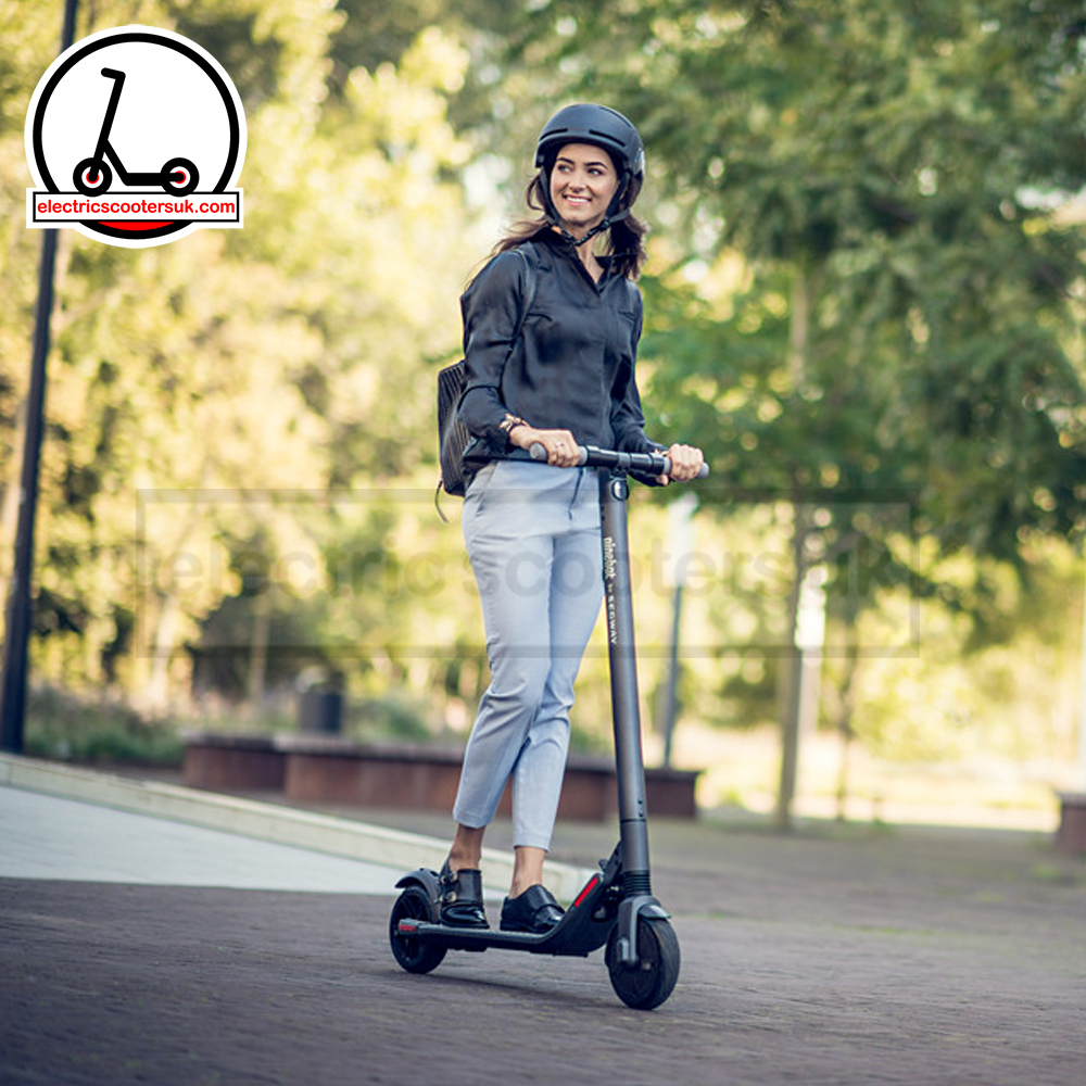 Ninebot by Segway Kickscooter ES2 - woman