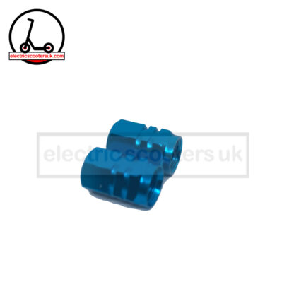 Aqua Blue valve caps